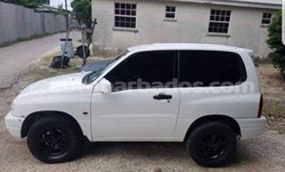 Buy Used Suzuki Grand Vitara White Car in Bridgetown in Barbados