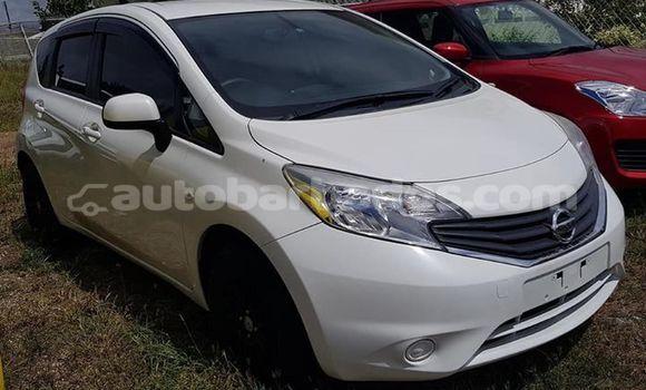 Buy Used Nissan Micra White Car in Bridgetown in Barbados