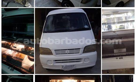 Buy Used Suzuki Carry White Car in Bridgetown in Barbados