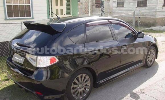 Buy Used Subaru Impreza Black Car in Bridgetown in Barbados